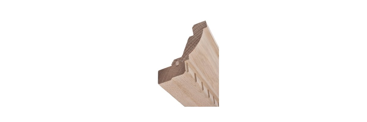 Kranzleisten für Möbel und Innenausbau -
