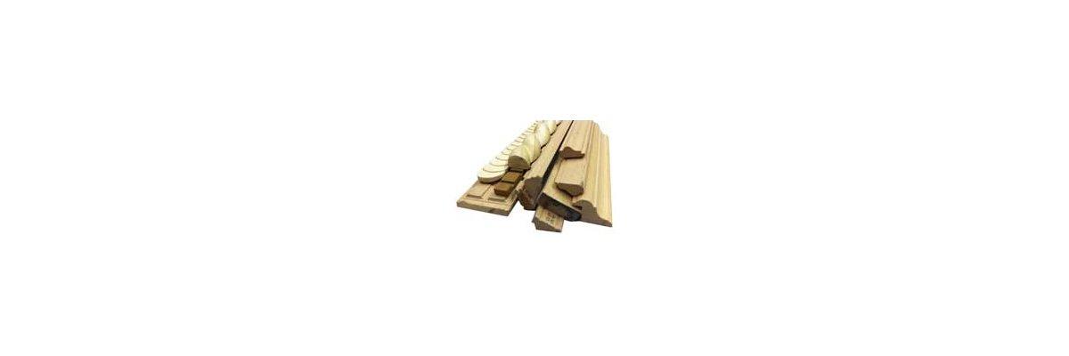 Leisten der Kategorie FK- ab sofort in Wunschlängen (Rohzuschnitt) bestellen - Holzleisten