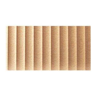 Wellenleiste 100 x 7  mm, Buche roh Länge 2440 mm