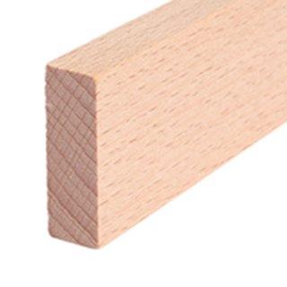 Vierkantleiste Massivholz 28 x 10 mm