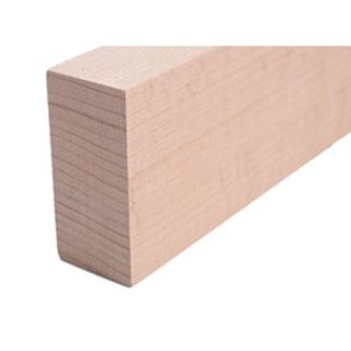 Vierkantleiste Massivholz 44 x 21 mm