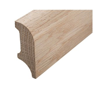 Sockelleiste Massivholz 45 x 18 mm