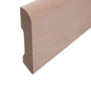 Sockelleiste Massivholz 60 x 12 mm