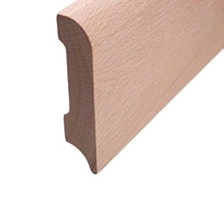 Sockelleiste Massivholz 78 x 18 mm