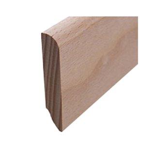 Sockelleiste Massivholz 50 x 10 mm