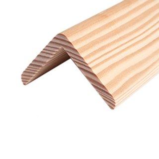 Eckleiste Massivholz 45 x 45 mm