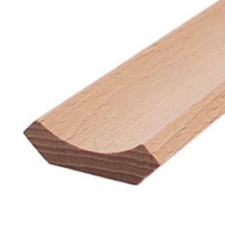 Hohlkehlleiste Massivholz 25 x 25 mm