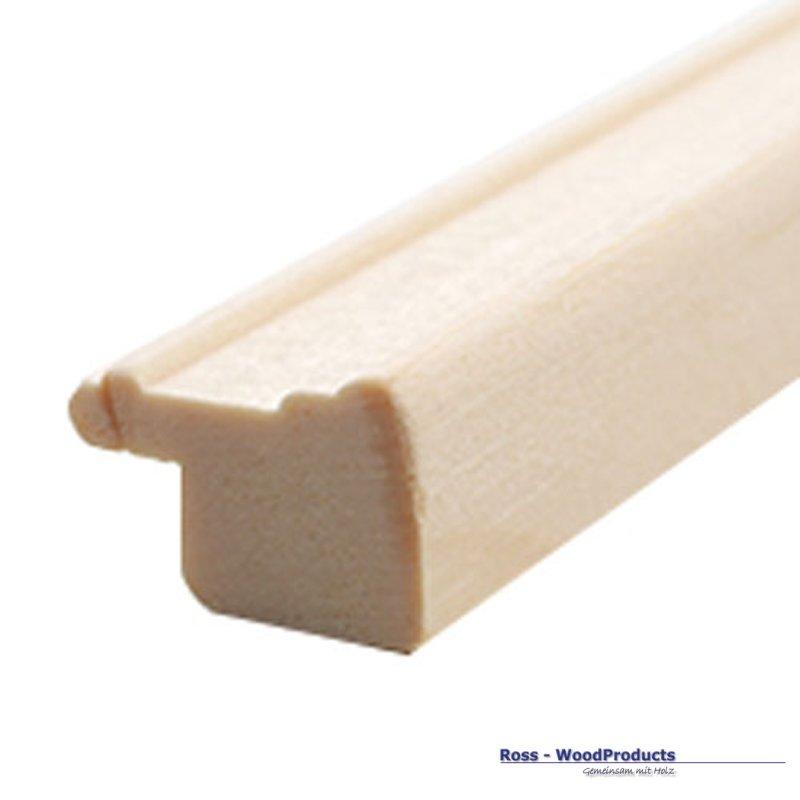Rahmenleiste Massivholz 16 x 11 mm