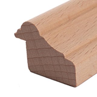 Falzleiste Massivholz 35 x 25 mm
