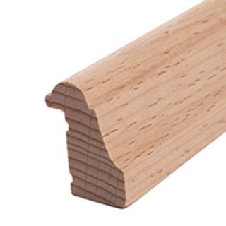 Falzleiste Massivholz 20 x 27 mm Buche roh 10 Meter