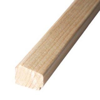 Falzleiste Massivholz 23 x 18 mm