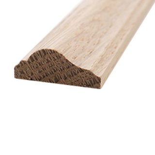 Profilleiste Massivholz 25 x 10 mm