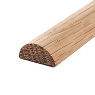 Profilleiste Massivholz 20 x 9 mm